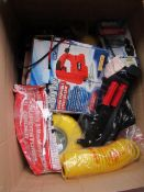 1x BOX OF VARIOUS TOOLS 503 This lot is a Machine Mart product which is raw and completely unchecked