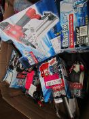 1x BOX OF VARIOUS TOOLS This lot is a Machine Mart product which is raw and completely unchecked and