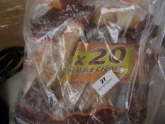 2x Packs of 20x Chocolate Crepes - BBD 07/04/21 - Packaging Damaged, Has Been Rebagged.