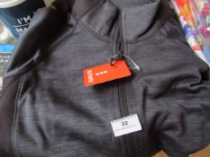 Elevate - Richmond Knit Charcoal Jacket - Size XS - Original Tags. - May Need A Wash As Item Is