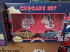 12x Mini Cupcake Set - New & Boxed.