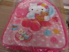 Approx 10x Hello Kitty backpacks - New & Packaged.