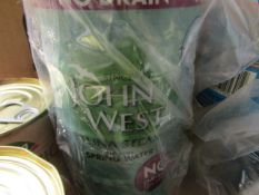 5x 200g tins of John West - Tuna Chunks In Spring Water - BB June 2023.