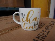 12x Strictly Come Dancing mugs - New.