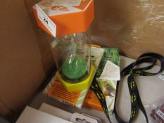 1x Insect Shield - Gaiter Green - Size Large - Unused & Boxed. 1x Batman Dog Lead - Unused. 1x