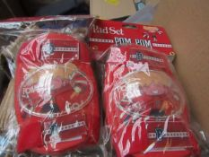 10x PomPom - Knee Pad Set (Children's Size Small) - Unused & Packaged.