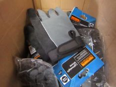 4x Halfords - Lightweight Material Gloves - Size XL - New & Packaged.