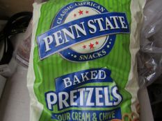 Pennstate - Baked Sour Cream & Chive Pretzels - BBD 09/21. - Unused & Packaged.