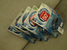4x Bloo Max - Original Blue Toilet Blocks (Last Upto 8 Weeks) - Unused & Packaged.