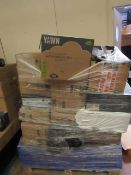 | 1X | PALLET OF APPROX 35X YAWN AIR BEDS | ALL UNCHECKED AND MOSTLY BOXED, MAY CONTAIN OTHER