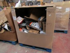 | 1X | PALLET OF APPROX 15-20 RAW CUSTOMER RETURNS HOUSEHOLD ELECTRICALS AND NON ELECTRICALS (MAY