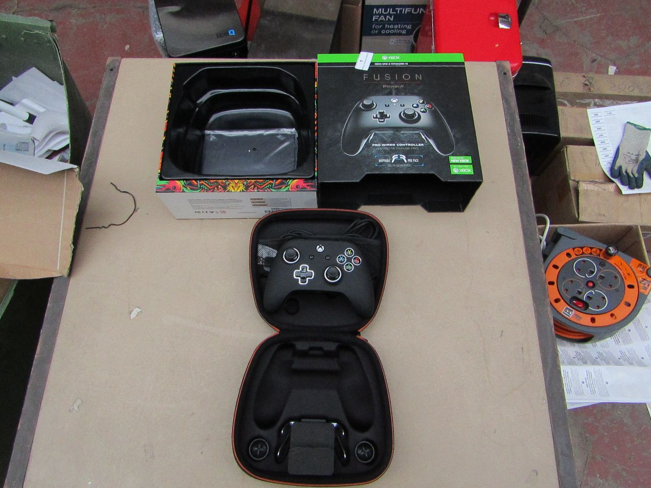 Gaming and Tech Auction with Controllers, games, headsets, keyboards, cameras, TV's and much more