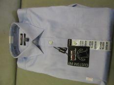 Kirkland Signature Custom Fit Non Iron Shirt Size 16 Inch Collar 32/332 New