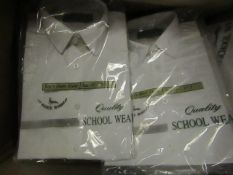 Approx 16 Boys School Shirts size 13.5 White New & Packaged