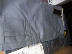 Vizwear - Action-line trousers Grey - size 36R - New & Packaged.