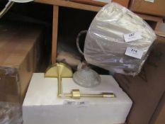   1X MADE.COM WALL HUNG LAMP   MISSING THE SHADE   RRP CIRCA £-