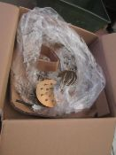 | 1x | HEALS.COM CHICAGO LED CHANDELIER | MISSING SHADES & BOXED | RRP £249 |