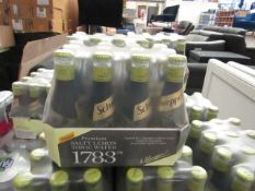 2x 12 Pack of Schweppes Salty Lemmon Tonic Water, 200ml, bb 31-08-20