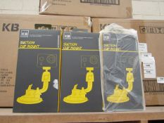 Kaiser Baas suction cup mount, new and boxed.