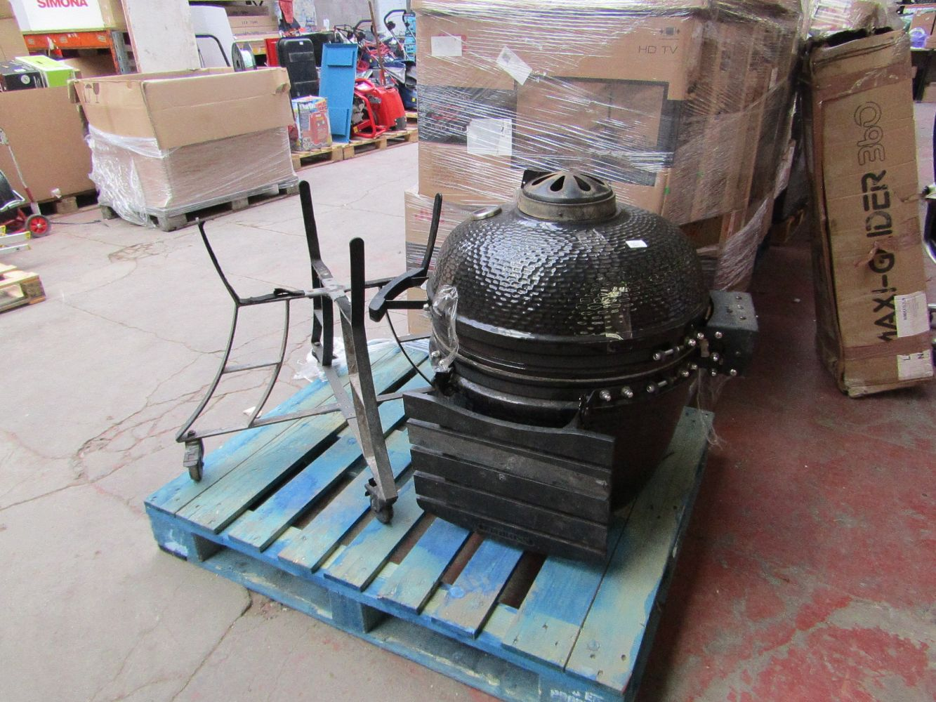 Wednesday Mixed Auction containing fitness, household items and electricals