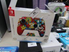 Nintendo - Enhanced Wireless Controller (Super Mario) - ( Suitable For Nintendo Switch ) -