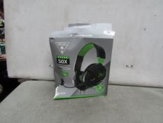 Turtle Beach - Recon 50X Wired Gaming Headset ( Suitable For Xbox One ) - Untested & Boxed.