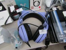 Somic - Wired Gaming Headset - Untested & No Packaging.