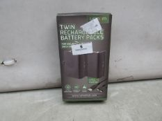 Venom - Twin Rechargeable Battery Packs ( Suitable For Xbox One ) - Untested & Boxed.