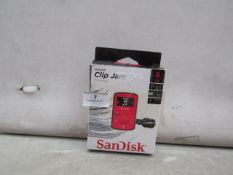SanDisk - Clip Jam MP3 Player ( 8GB ) - Untested & Boxed.
