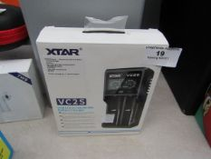 Xtar - VC2S USB LCD Li-ion / Ni-MH Battery Charger - Untested & Boxed.
