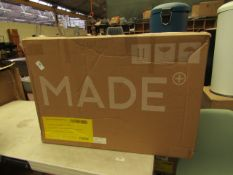 1 x Made.com Thelma office chair Black and Orange RRP ¶œ99 SKU MAD-CHATHM016BLK-UK TOTAL RRP ¶œ99