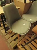 | 1X | MADE.COM THELMA OFFICE CHAIR, GREY | NO DAMAGE IS VISIBLE | RRP ?99 |