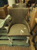 | 1X | COX AND COX BROOKLYN DINING CHAIR | LOOKS UNUSED (NO GUARANTEE) | RRP WHEN A SET OF 2 œ650 |