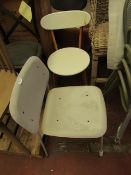 | 2X | MADE.COM DINING CHAIRS | MATERIAL NEEDS ATTENTION AS IT IS PEELING | RRP- |
