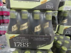 2x 12 Pack of Schweppes - Salty Lemmon Tonic Water - 200ml - BBD 31-08-20 - Unused & Packaged.