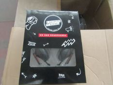 5x 5 Seconds Of Summer - Headphones - New & Boxed.