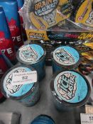 4x Ice Blasterz - Sour Cool Candy 48g Tubs - BBD 31/01/21 - Unused & Sealed.