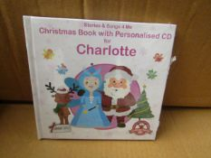2x Boxes Containing 100 Per Box - Global - Personalised Christmas Books ( Include Personalised
