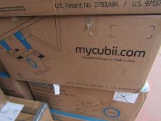 | 4X | CUBII UNDER DESK ELLIPTICAL WORKOUT | UNCHECKED AND BOXED | NO ONLINE RE-SALE | RRP £179.99 |