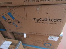| 5X | CUBII UNDER DESK ELLIPTICAL WORKOUT | UNCHECKED AND BOXED | NO ONLINE RE-SALE | RRP £179.99 |