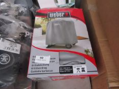 3X WEBBER GRILL COVERS, UNCHECKED IN BOX