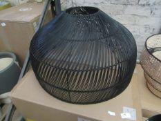 1 x Made.com Java Lamp Shade Extra Large Black RRP £69 SKU MAD-AP-SHDJAV015BLK-UK TOTAL RRP £69 This