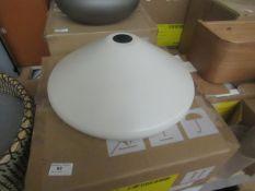   1x   MADE.COM ALBERT PENDANT LAMP   LOOKS UNUSED AND BOXED (NO GUARANTEE)   RRP £49  