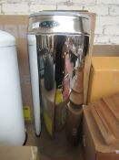   1x   MADE.COM SENSE TOUCH FREE SENSOR BIN 42L STAINLESS STEEL   NO VISIBLE DAMAGE & BOXED   RRP £