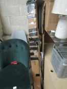   1x   MADE.COM ROYALCRAFT 3M CANTILEVER PARASOL   UNCHECKED & BOXED   RRP £85  