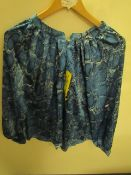 J.A.C.H.S Girlfriend Blouse Snake Floral Size S New With Tags