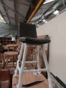 | 1X | COX & COX WILLIAMSBURG HIGH STOOL, CARBON | UNCHECKED & BOXED | RRP £325 |