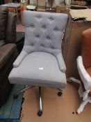 | 1X | MADE.COM BUTTON BACK OFFICE CHAIR | LOOKS UNUSED (NO GUARANTEE) | RRP œ179 |
