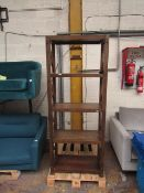 Bayside Furnishing Burke book case, may a a couple of very small marks but nothing major, RRP £199