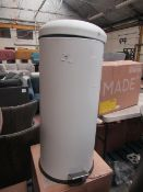 | 1x | MADE.COM JOSS 30L DOMED BIN | MAY HAVE DENTS AND MARKS, BOXED | RRP ?39 |
